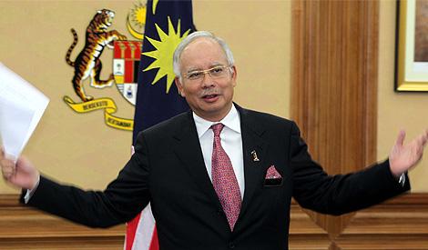 Najib 14 March