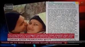 Isteri Peramugara MH370